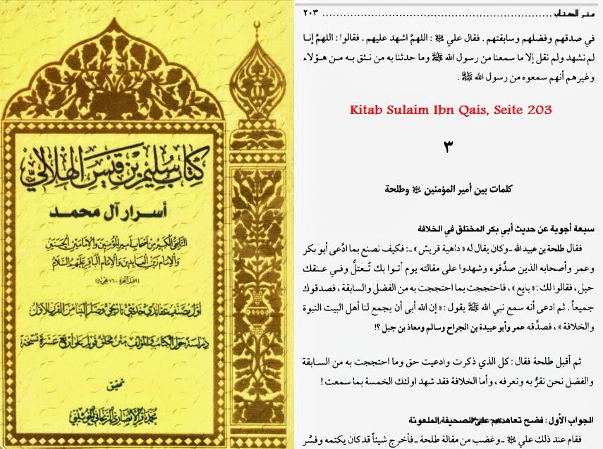 Kitab Sulaim Ibn Qais - Seite 203