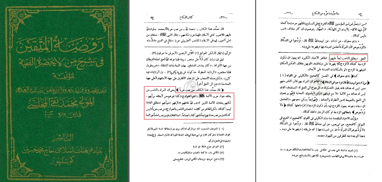 Rawdat-ul-Muttaqin B 8 S. 220 - 221