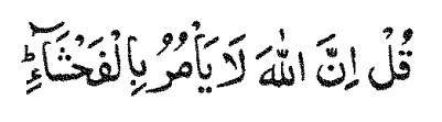 araf 7-28