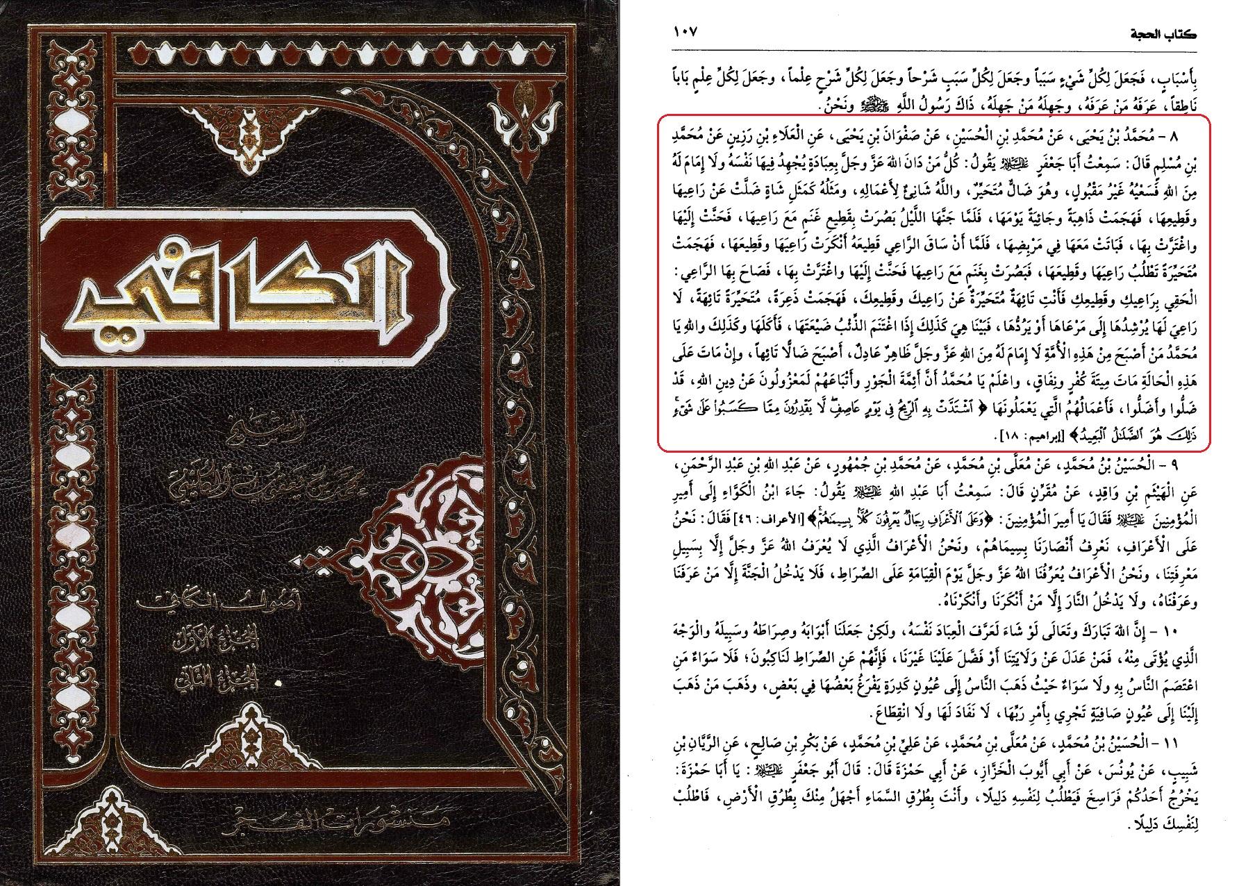 al-Kafi B 1 S 107 H 8